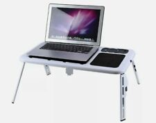 iPad Laptop Tablet Desk Cooling Fan Notebook Table Tray in Bed on Sofa