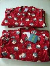 GYMBOREE Holiday Christmas Red Penguin Pjs Pajamas Boy Size 5 NWT - 2 Pairs