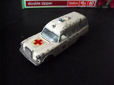 Vintage 1960s Matchbox King Size K-6 Mercedes Benz Binz Ambulance