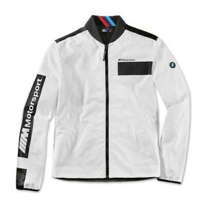 Authentic Genuine Men's BMW Motorsport Jacket L Black & White W/Bold Branding...