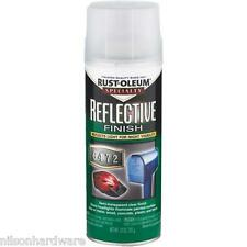 3 Pk 10 Oz Clear RustOleum Reflective Finish Spray Enamel Paint 214944