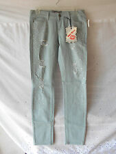 Blue Jeans Size 7 Hot Kiss Skinny Lilly Distressed With Embellishments