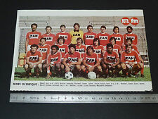 CLIPPING POSTER FOOTBALL 1976-1977 NIMES OLYMPIQUE JEAN-BOUIN CROCOS COSTIERES