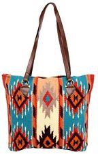 "New Southwestern Southwest Wool Bag Tote  Style Zapotec 15"" x 18"""