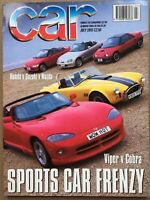 Car Magazine - July 1993 - Viper v Cobra, XJS 6.0, 850 Estate, V6 Family Cars