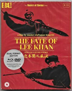 The Fate Of Lee Khan.Blu Ray+Dvd RegionB/2 Includes Registered Post