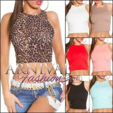 Polyester Crop Tops for Women