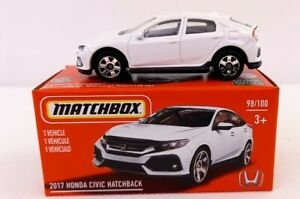 Matchbox power grab series 21. Honda Civic 2017. Neuf en boite. Lire descriptif