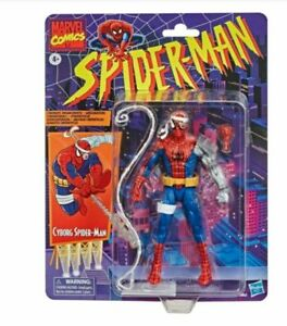 "Hasbro Marvel Retro Cyborg Spider-Man 6"" Action Figure - Multicolored"