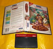 TAZ-MANIA TazMania Sega Master System Versione Europea PAL ○○ SENZA MANUALE - CQ