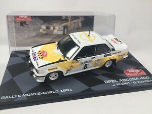 Opel Ascona 400 Rallye Monte Carlo 1981 Kleint - 1/43 Voiture Car Diecast RB32