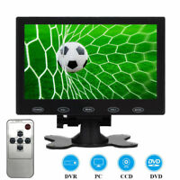 "Mini 7"" LCD CCTV Monitor HD Screen AV RCA VGA HDMI 1080P for Home Security PC"
