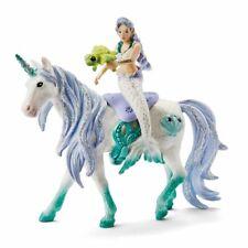 Schleich Mermaid Riding Sea Unicorn Plastic Fantasy Animal Figure NEW 42509