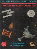 Task Force Games: Star Fleet Battles - Booms & Saucers - Captain's Module D3