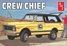 "AMT 897  1972 Chevy Blazer ""Crew Chief""or ""Boondocker"" plastic model kit 1/25"
