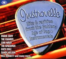 Instroville-Instrumentals 2-CD NEW SEALED Link Wray/The Champs/Sandy Nelson+