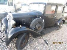 Original Classic 1932 Citroen Rosalie Berlene Saloon Car for Sale