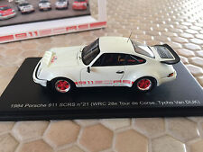 PORSCHE 911 SC RS #21 1/43rd RARE SPARK 1/100 MODEL 1984 NEW SEALED BOX