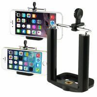 New Camera Cell Phone Monopod Tripod Mount Adapter Holder Bracket Black