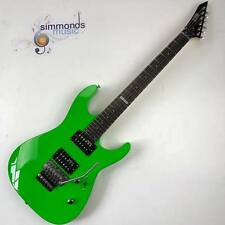 ESP Ltd M-50 FR ELECTRIC GUITAR in Neon Green - HH Pickups With Floyd Rose