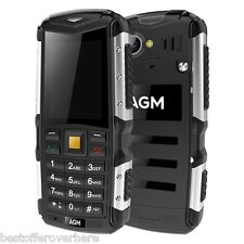 "2.0""AGM M1 3G Bar Phone BT2.1 Dual SIM IP68 Waterproof Camera 2570mAh 64MB+128MB"