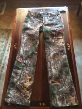 Womens Under Armour Hunter Camo Realtree Xtra Woven Scent Control Size 4