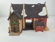 Dept 56 Dickens Village Butter Tub Barn #58338