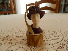 """Just the Right Style """"Feather Flair"""" Hat #27401 12-2"""