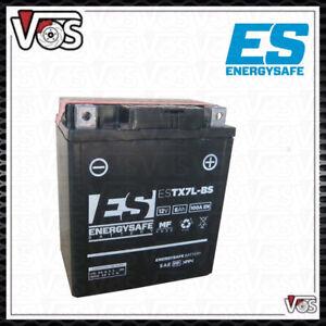 BATTERIA ENERGYSAFE ESTX7L-BS = YTX7L-BS 12V 6Ah PER HONDA SH 125 SH 150