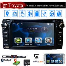 Car Stereo Radio DVD Player GPS Bluetooth for Toyota Corolla Camry Hilux RAV4 86