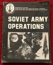 Soviet Army Operations April 1978 Dept of the Army US Intelligence Assessment