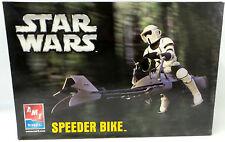 STAR WARS : THE RETURN OF THE JEDI : SPEEDER BIKE & BIKER SCOUT MODEL KIT  (MI)