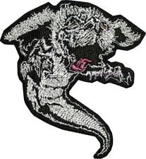 The NeverEnding Story Embroidered Patch Falkor White Dragon Bastian Atreyu