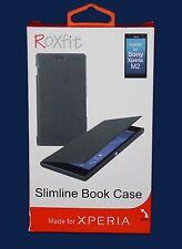 Libro Roxfit Slimline Estuche para Sony Xperia M2/M2 Aqua *** NUEVO ***