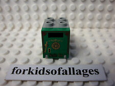 Lego Safe (Green & Gray) Western City Store Bank 6755 6761 6765 6799 6764