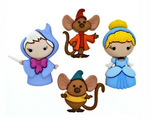 Disney Cinderella Buttons Jesse James Dress It Up Embellishment Collection