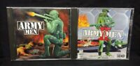 PC CD-ROM Army Men 1, 2 (Jewel Case,  Windows PC) Game Lot Tested Working