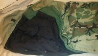 US ARMY 4 PIECE MODULAR SLEEPING BAG  SYSTEM (Goretex Bivy by Tennier) Woodland