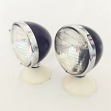 Deitz Hot Rod Headlamps Headlights with Classic Seal Beam Lenses