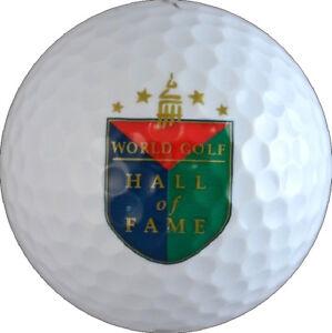 WORLD GOLF HALL OF FAME  Logo GOLF BALL
