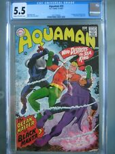Aquaman #35 CGC 5.5 DC Comics 1967 1st app Black Manta