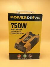 PowerDrive 750W Power Inverter Full Cable Kit w/ Dual Port USB & USB-C PD750 NEW