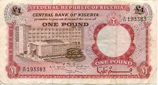 NIGERIA 1 N état voir scan