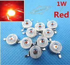 1W high power LED lamp red light-emitting diode lamp 40-50lm 2.2-2.6v 1Watt 2pcs