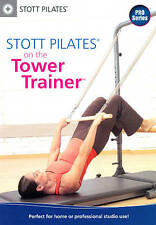 Stott Pilates On the Tower Trainer DVD 2012 Yoga Fitness Strength Train Core Abs