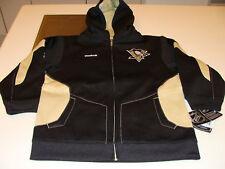 Pittsburgh Penguins Niño Full Zip Hoodie Nhl Hockey Xl