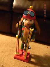 """14"""" tall skating nutcracker doll"""
