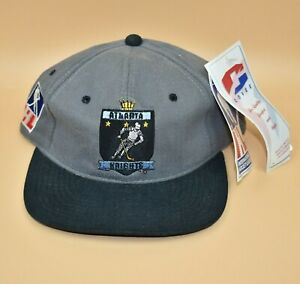Atlanta Knights IHL Vintage 90's Covee YoungAn Back Spell Out Snapback Cap Hat