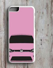 VW MK7 Golf R Iphone funda se adapta a 4 4S 5 5S 5C 6 6S se 7 y PLUS GTI R32 Rosa