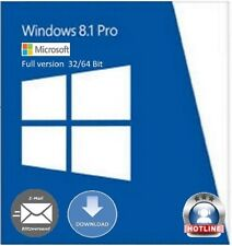 Windows 8.1 Professional 32 / 64 Bit OEM Key Schlüssel Multilingual Vollversion